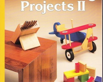Woodworking Patterns Book - Woodworking Projects II - Sunset Books
