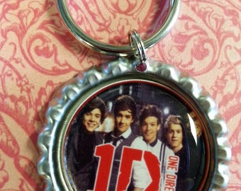 One Direction Keychain or Zipperpull