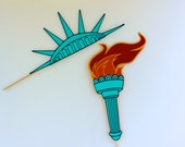 Statue of Liberty Photo Booth Props