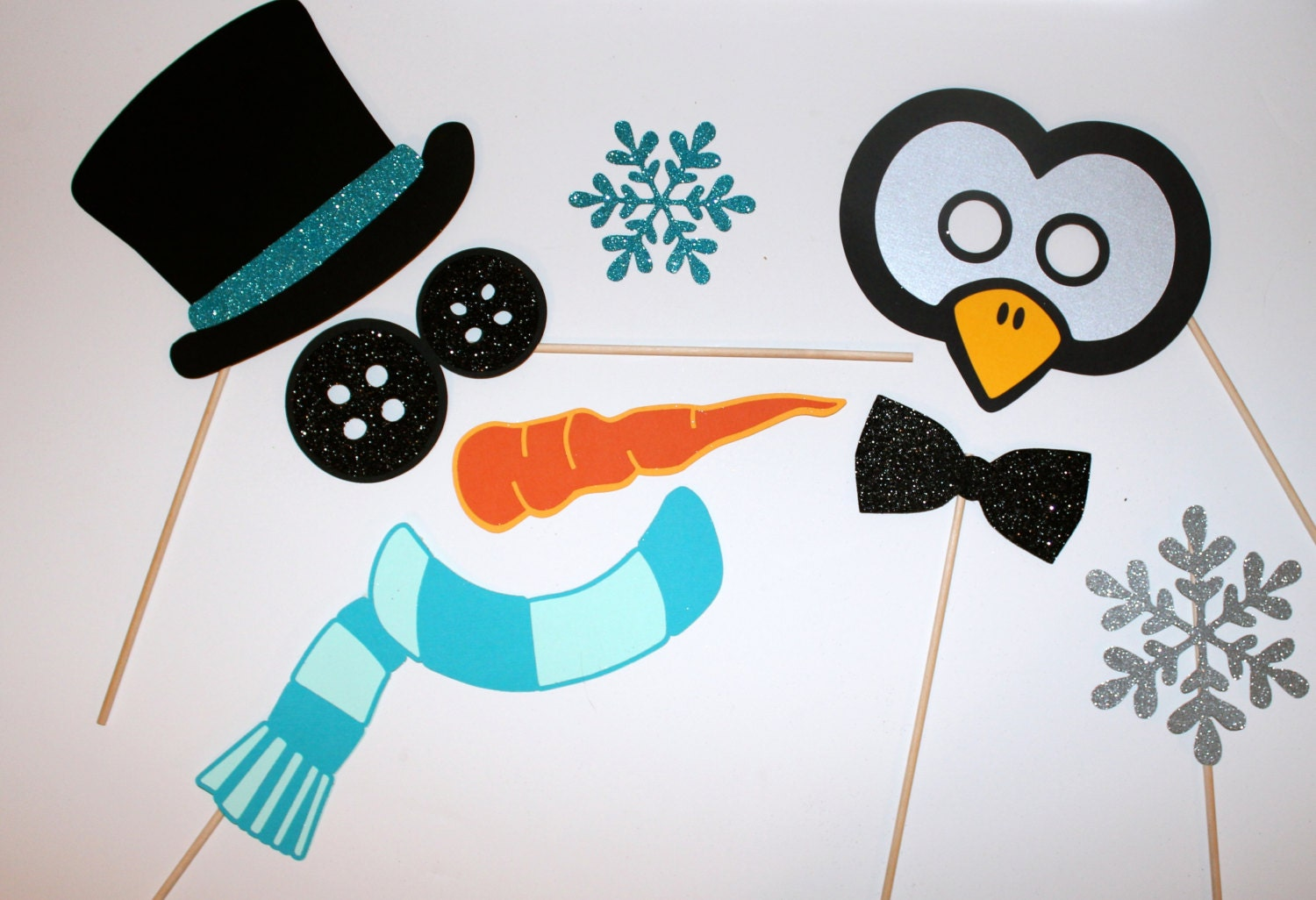 Christmas Party Photo Props Christmas Party Props Frosty