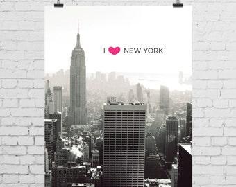 DIGITAL PRINT - I Heart New York
