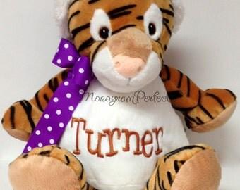 Personalized Plush Stuffed Tiger Soft Toy