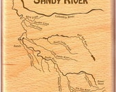 SANDY RIVER MAP - Fly Fis...