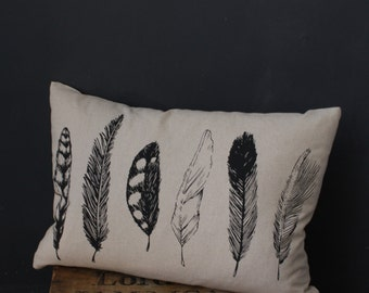Feather Oblong Pillow