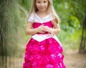 Sleeping Beauty Aurora Dress everyday princess PDF Pattern instant download 6mnth-8years