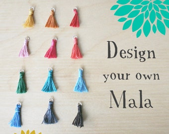 Design your own Mala necklace //