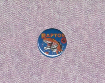 Ghost World-Inspired Raptor 1-inch Button