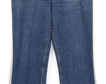 Vintage Levi's 646-0217 Flared / Bell Bottom Denim Pants W36 1970's