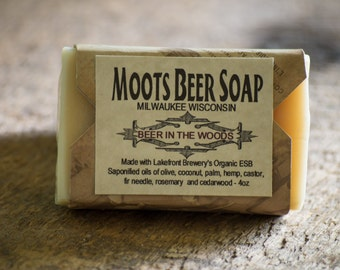 Beer In The Woods Beer Soap - Beer Soap - Fir Needle - Cedarwood
