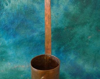 Antique Copper 1880 Miracle Lamp Otto Muller Berlin Primitive Copper Dipper