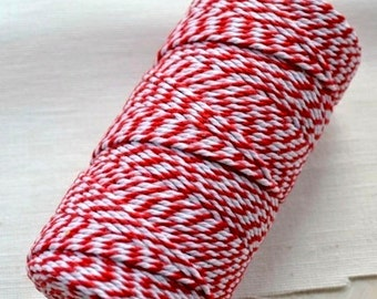 Red Cotton Bakers Twine