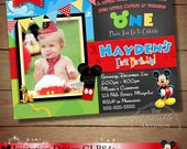 HUGE SELECTION Mickey Mouse Invitation, Chalkboard Invitation, Mickey Mouse Clubhouse, Disney, Mickey Mouse, First, 1st, Second, 2nd, 3rd
