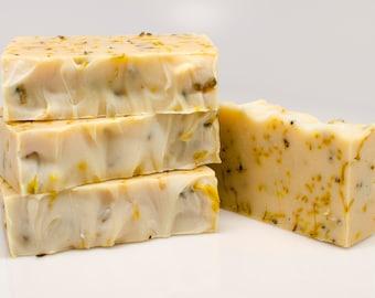 ORGANIC SOAP- French Lavender Soap, All Natural Soap, Handmade Soap, Fragrance Free Soap, Essential Oil, Dry Skin, Coconut milk soap!