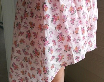One of a Kind: Asymmetrical Floral Skirt
