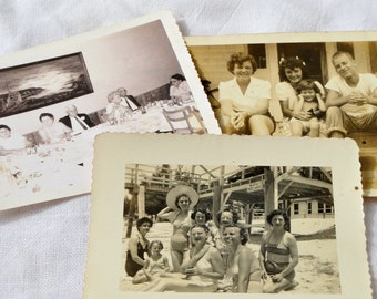Black & White and Sepia Vintage Family Photos, Ephemera