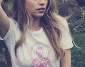 Women's Namaste T-Shirt - American Apparel Size L