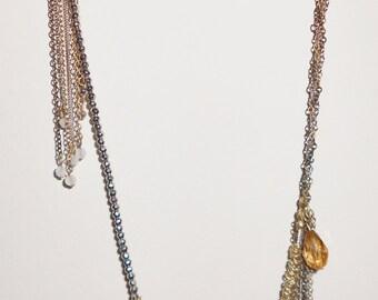Vintage chains Designer Banana Republic 1980s  chain necklace
