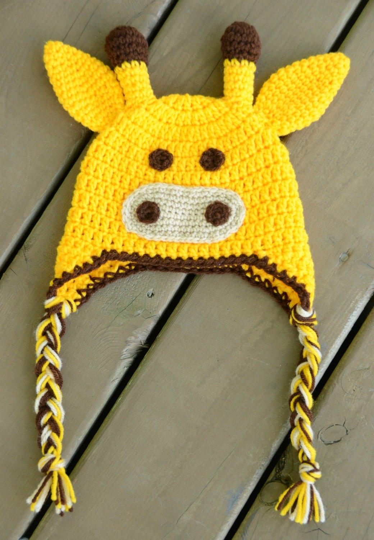 Crochet Pattern Giraffe Hat : Baby Giraffe Hat Crochet Giraffe Hat Giraffe Hat by ...
