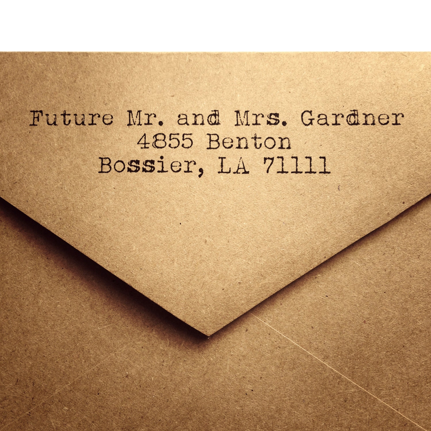 25 Rustic Return Address Envelopes Wedding Return Address Envelope KRAFT Envelope Rustic