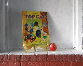 1963 TOP CAT Children's Book.  1st Edition. Big Golden Book. First Edition. Carl Memling.