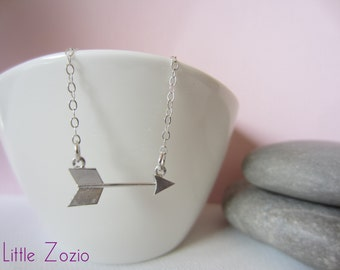 Arrow necklace - Sterling Silver Chain