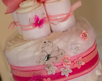 Tiered Diaper Cakes