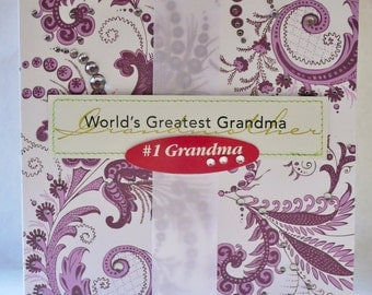 World's Greatest Grandma - # 1 Grandma - Mother's Day Card