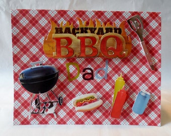 Backyard BBQ Dad - Father's Day Card