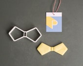 Bow tie cookie cutter, 3D...