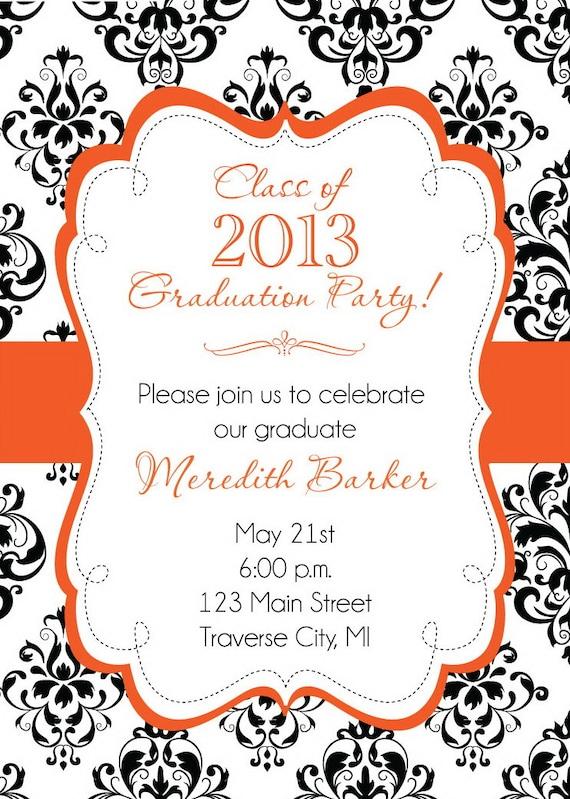 College Graduation Invitations Wording for perfect invitations design