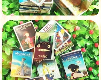 Studio Ghibli Book set 9 pieces