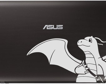 Dragonite Laptop Decal
