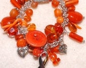 Orange Awareness Bracelet - KarleensIdeas