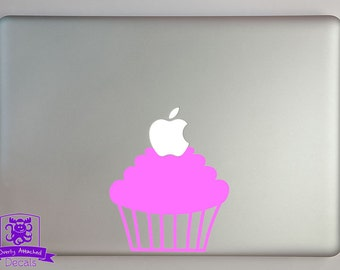 Cupcake Macbook Laptop Decal