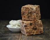 Shea Butter Soap Blocks, Unscented Soap, All Natural Soap, Rustic Soap, Shampoo Bar, Chunk Soap, Facial Soap, Vegan Soap