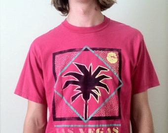 SALE ITEM: Retro 1989 Las Vegas Graphic T-Shirt
