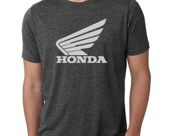 New Honda t-shirt motorcycle cafe racer vintage style