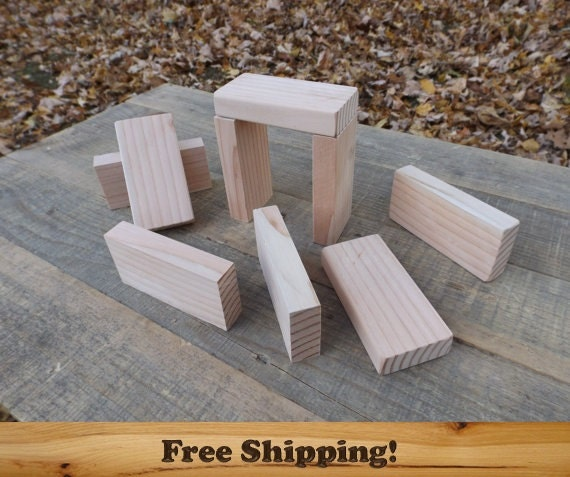 20 wooden 2x4 inch by 3 4 inch rectangle blocks all natural. Black Bedroom Furniture Sets. Home Design Ideas