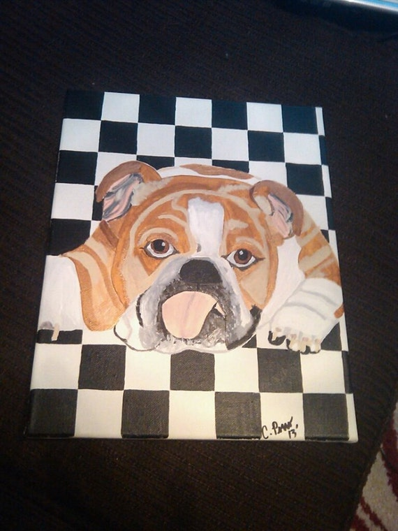 original english bulldog original english bulldog painting with classic by 9830