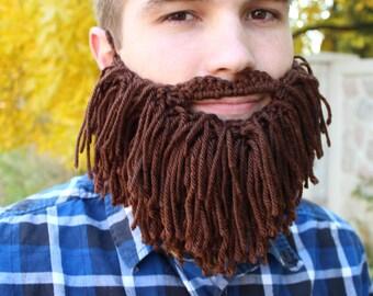 Shaggy Beard Face Warmer (Child/Adult)
