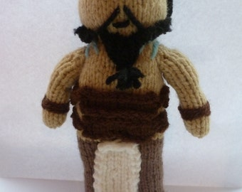 Khal Drogo (Game of Thrones) knitted doll