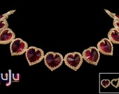 """Kit for Tutorial Necklace """"My Heart's Desire"""""""