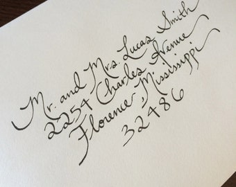 Southern Wedding Calligraphy