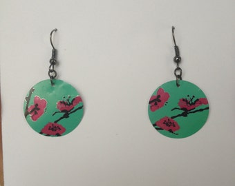 unique Arizona Green Tea Earrings
