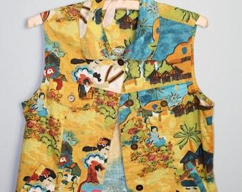 Colorful Pattern Vest