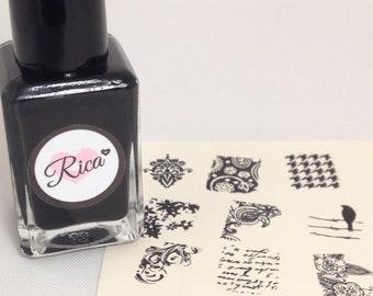 Blackout (custom hand crafted nail polish)