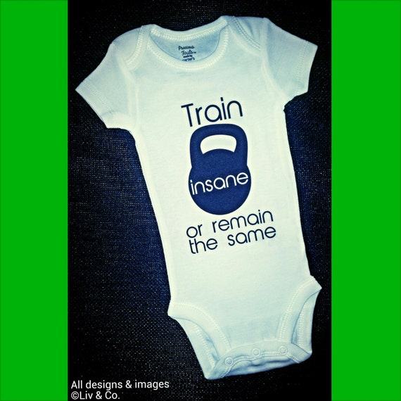 Funny Workout Baby Onesies