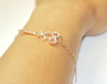 Rose Gold Scissor Bracelet,Sissor Bracelet, Scissor jewelry,Stylist,Modern Bracelet,Gift for him, shears bracelet,Scissor ,,Hairdresser Gift