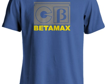 Betamax Video Cassette Retro Nostalgic T-shirt