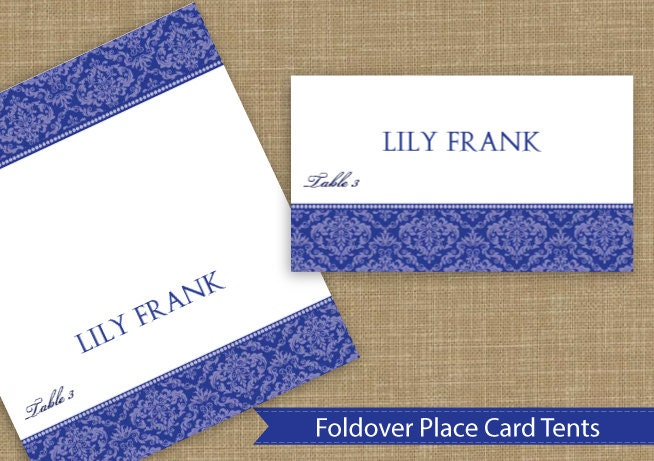 place card tent download instantly editable by karmakweddings